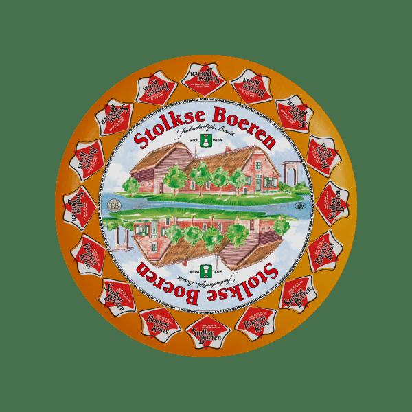 Het logo van onze Stolwijker kaas: de Stolkse Boeren.